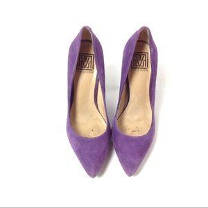 Pour La Victoire Purple Platform Heels Size 81/2